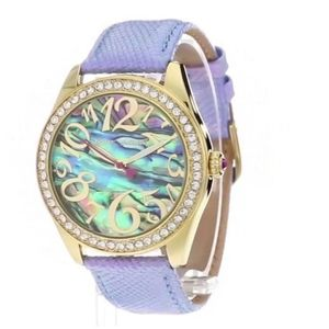 Betsey Johnson Abalone/Crystal Watch